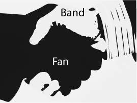 band to fan band 2 fan b2f